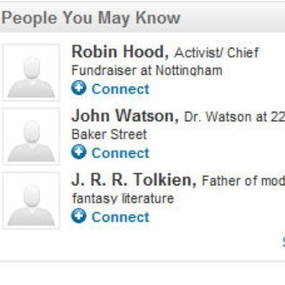 LinkedIn People you may know
